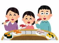 行ったことがある回転寿司店は?スシロー、くら寿司、はま寿司、かっぱ寿司、獄門寿司。