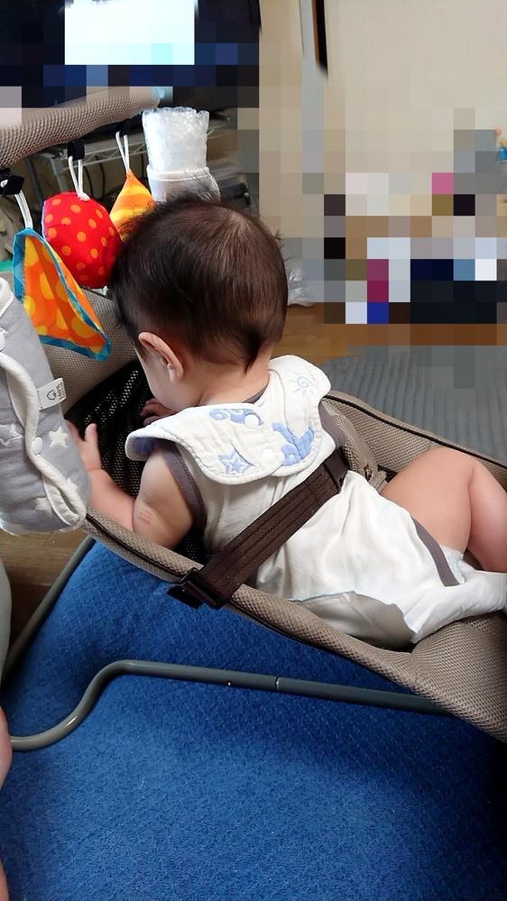 リッチェルのバウンサーについて質問です。 もうすぐ生後7ヶ月の乳児がいます。 産まれてからリ...