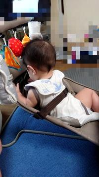 リッチェルのバウンサーについて質問です。  もうすぐ生後7ヶ月の乳児がいます。 産まれてからリッチェルのバウンサーに座らす(寝かす?)をしているのですが、 最近は動きたい!うつ伏せに なりたい!でよく...