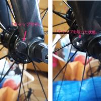 ロードバイクに気になるものがありました。 フロントフォークの、先の所に突起が付いているのですが、何に使うのですか?キャップがはめてあって、取るとネジ山がありました。何かを取り付けるのでしょうか