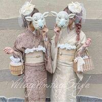 京都でこんな感じの着物レンタルできる所って ないでしょうか…? (画像は浅草のレンタル店の物です)