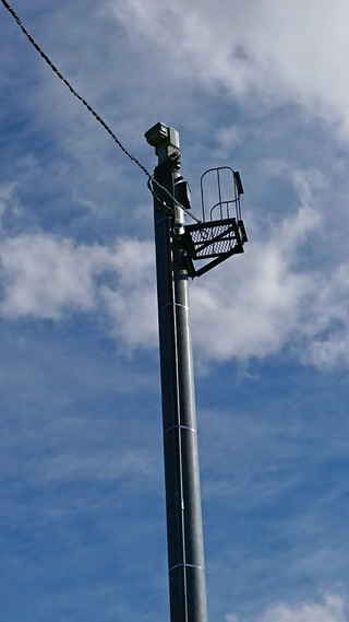 電柱,河川ライブカメラ,先端,電気,カメラ,公園内,河川ライブカメラマップ