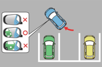バック駐車のやり方・コツのホームページや動画は結構あるのですが、自宅の駐車場を含めて、画像のように車を45度くらいまでに傾けることができなくて、30度くらいとか直角バックに近いやり方でしか停めることが...
