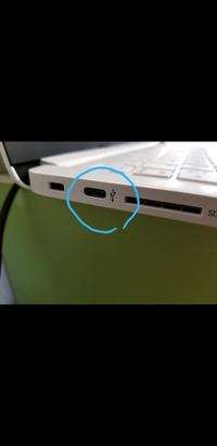 ノートパソコン横にUSBケーブルのタイプcを接続できる穴があるのですが、何に使用できるのでしょうか?