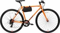 あさひのレユニオンリルというクロスバイクを買ったんですけど、ブレーキをかけるとき「シャー」というような何かをする音がします。直す方法はありますか?