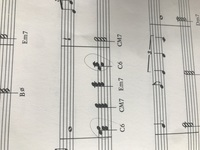 ジャズピアノ。jazzピアノのコード。c6 がわかりません。 c6は、ドミソラなのか、ミソラドなのかわかりません。 ジャズハノンを独学でやっていますが、楽譜は画像見みてのとおり同じです。 ご教示ください。