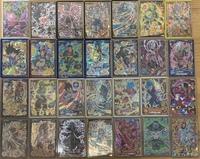 ドラゴンボールヒーローズのデッキ作りについての質問です!BM3のサルサ、UM8のプティン、アバターで3枠を使った場合、残りの4枠はこの画像の中でどのカードがいいでしょうか?ヒーローズに詳し い方がいましたら...