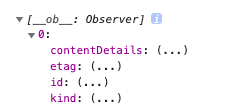 Vue.js で配列にアクセスできない. 次のような2次元配列について :0内のcontentDetalisの要素へのアクセス方法が分かりません 現在,変数名[0].contentDetai...