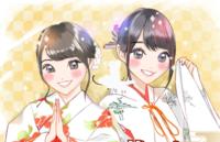 坂道⊿イラストクイズPart7 画像のイラストは左から 現役、または元坂道メンバーの  誰でしょう?