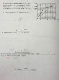 数学 一次関数のプリントです。 答えが載っていなかったので、答で間違っているところがないか見て頂きたいです ♂️ もしよろしければ、間違っているところの説明をして下さると助かります…。 よろしくお願い致し...