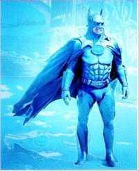 筋骨隆々とした筋骨たくましい筋肉質の強靭な肉体を持つヒーローバットマンの弱点は、どこだと思われますか??