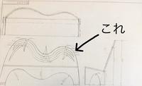 機械製図についてです。助けてください。 今ベンチの設計図を描いているのですが背もたれの波線?を平面図ではどんな風に描かれるかよく分からないです。コツとかありましたら教えてください。 (もし出来ました...