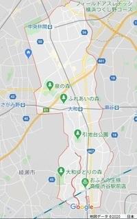 大和市は,昭和34年創立。 戦艦大和は,昭和15年の造り。  ということは,  大和市の市境が戦艦大和をマネて,偶然に魅せているだけの可能性がある ということですかね。