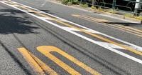 センターラインの両側にゼブラゾーンが設定されています。 ①はみ出して走っても良いということでしょうか? ②道路交通法上は自分の車線に駐停止車がある場合はいずれにせよ対向にはみ出しても良いと思うのですが どう異なるのでしょうか? ③白と黄色はどう異なりますか? ④朝夕渋滞している場合など 二輪車でど真ん中を走行しても良いということでしょうか? よろしくご教示ください。