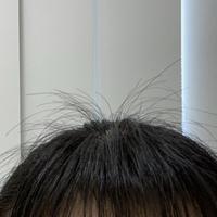 前髪と横の髪の毛を表面から思いっきりすいてしまいピョンピョンとすごい出てきます。 ケープなどで固めても無理でした。 伸びる以外でそれを抑える方法とかあったら教えていただきたいです。