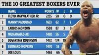 フロイド・メイウェザーJr.は歴代PFPで何番目に偉大なボクサーだと思いますか? 彼のファイティングスタイルや言動を「好きか、嫌いか、どちらでもないか」も述べてください。  オーストラリアのデイリーテレ...