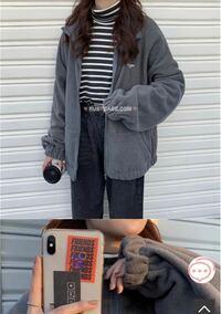 ボアジャケットに似ているこのジャケットの種類分かりますか? ボアのような羊っぽさはないです