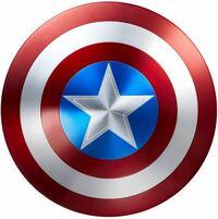 キャプテンアメリカの盾をつくりたいのですが、 寸法を教えて欲しいです 出来れば、星のマークの周りの円の長さや、他の円の部分の長さもお願いします!