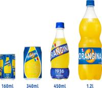 オランジーナって普通サイズは420mlのやつですか?もう少し大きいのはないのですか? 公式サイトに450mlのやつもあると書いてあり近所のスーパーを何件か回りましたが420mlのやつしか見つかりませんでした