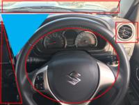 車のスマホホルダーってどこに設置するのがベストだと思います?