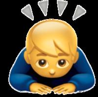 絵文字についてです。skypeで画像のような絵文字を入力すると、♂️になってしまいます。このYahoo知恵袋でもです。 これって何が原因で起こるんでしょうか?