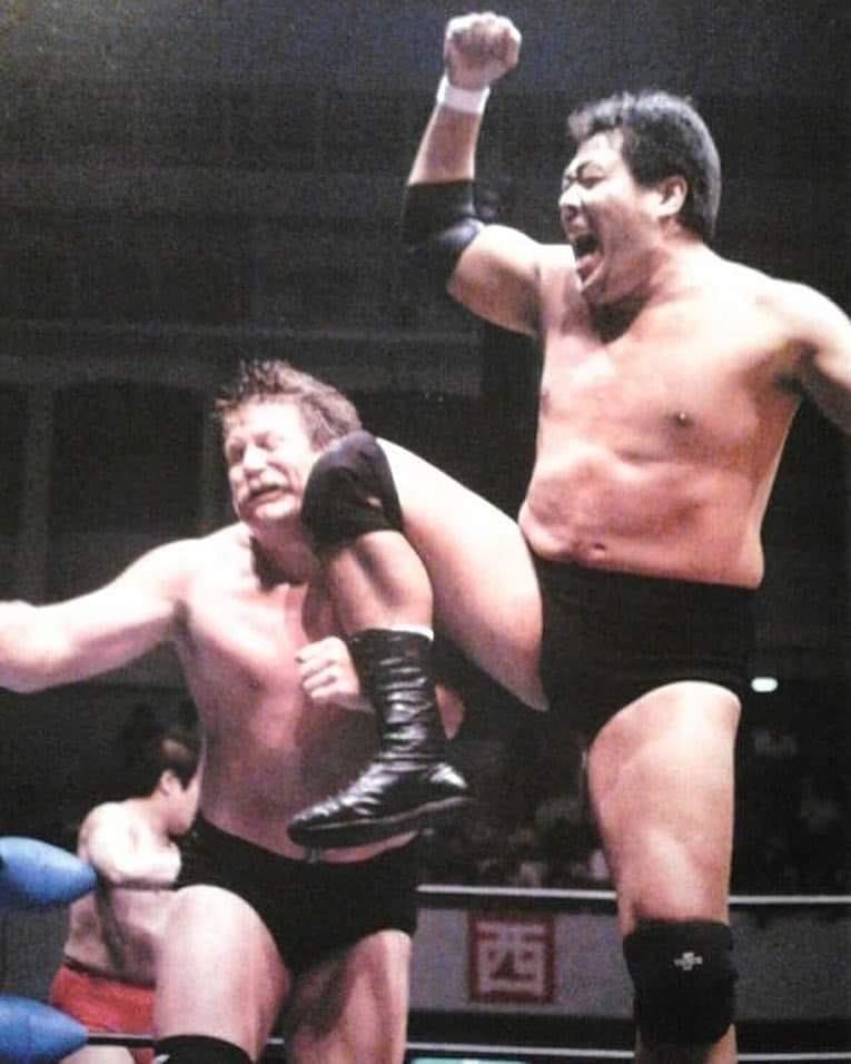 日本人の最強レスラーは、ジャンボ鶴田ですね?