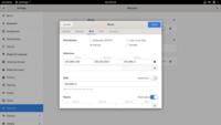 Linuxのネットワーク設定ファイルの場所について質問です。  現在、Debian10.5のGUI版(GNOME)を使用しています。 ソフトウェア一覧から「設定」アプリを開き「ネットワーク」を選択すると、添付画像のようにN...