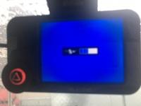 ドライブレコーダーについて教えて下さい。エレコムLVR-SD120Hだと思うのですが数日前より写真のような画面になりました。 色々と調べましたが分かりません。どなたかお知恵を貸して下さい!
