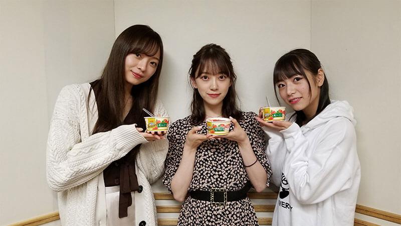 堀未央奈、北野日奈子、梅澤美波の3人に同時に「○○君可愛い♪私と付き合って♡」と言われたらどうする?