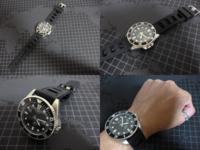この時計はカシオなんですが・・・1万円以下で購入可能('ω')ノ でもROLEXのサブマリーナが欲しくても買えない人が泣く泣く(´;ω;`)身に着ける心の慰めの時計だと思いますか?