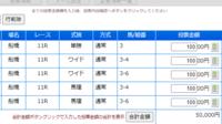 船橋11Rの日本テレビ盃、添付馬券をどう思いますか?^^  20:05出走予定です。  さあどうなりますか!? ※馬券はもちろん夢の中でのお話です(笑) 実際は金欠で買っていません。。(泣)