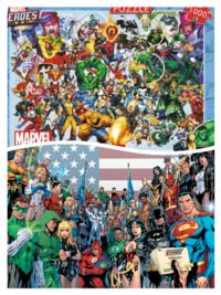 アメコミのマーベルコミックとDCコミックではどっちが好きですか?