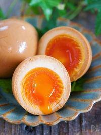 半熟ゆで卵に何かつけてたべますか?