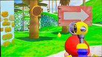 スーパーマリオ3Dコレクションのスーパーマリオサンシャインの質問。 写真の「ハチの巣」に水をあてるとどうなりますか? (※「攻略サイトをご覧ください」を回答しないよう、お願いします。)