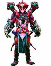 仮面ライダービルドですがエボルト怪人態のこの肩パーツってなんか能力ありましたっけ?ビームでも撃てるんですか?