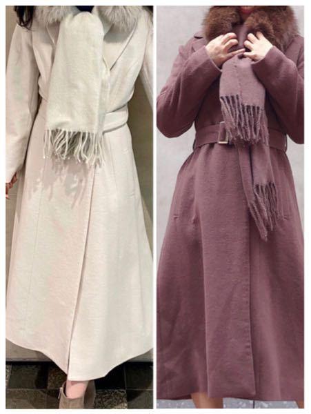 パーソナルカラーは、自己診断でイエベ 秋です。 どっちのコートが似合うでしょうか? どちらも似合いませんか? クリームイエローとモカブラウンです。