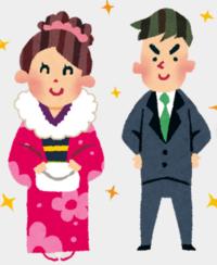 何故、成人式や結婚式などの行事で女性は着物やドレスで着飾るのに、男性はどの行事でもスーツ姿の人が多いのですか?