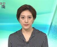 質問します。 1.ニュース7の上原光紀アナ、白黒の柄物トップスにグリーンのスカートは素敵でしたか? 2.今夜の綺麗度は如何でしたか(100点満点で)?  (◆danさん用◆)
