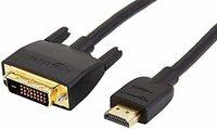 DVIケーブル→HDMI変換ケーブルについて。 モニターのHDMI端子とパソコンのDVI端子を繋ぐには画像のようなケーブルを買えば良いのでしょうか。 パソコンのDVI端子のピン数が24です。