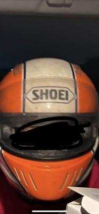 SHOEIのヘルメットについて  このヘルメットはいつ頃のもの、また名前は何と言うものでしょうか?