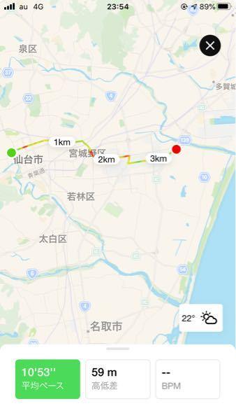 最近NIKEランクラブを使い始めました。チャレンジも始まったことから10km以上のランを何度かしました。しかし、距離が正確に測定されず、実際は11kmほど走ったのに3kmしか測定されていない(画...
