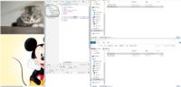 HTMLの階層について。 以下の様な感じでhtmlファイル(?)を作ってみました。右がファイルの構成です。左がuntitled-1.html(以下html)を開いた状態です。htmlは上に猫の画像とミッキーの画像(押したらindex.htmlに)があって、そこまでの動作は確認済みなのですが、デペロッパーツールのpageのところになぜ表示されないのでしょうか?同じ階層にあるもので、関係のあるも...