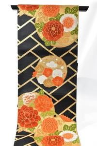 振袖の袋帯  この帯は振袖に向いてる(使える)と思いますか? 正絹 サイズは30.5×437です。 振袖用に用意しましたが、柄的にどうかと気になってます。
