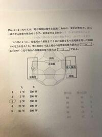 公務員試験の過去問の物理の問題です。 答えは3番です。 解き方がわからないため教えて下さい。 よろしくお願いします。