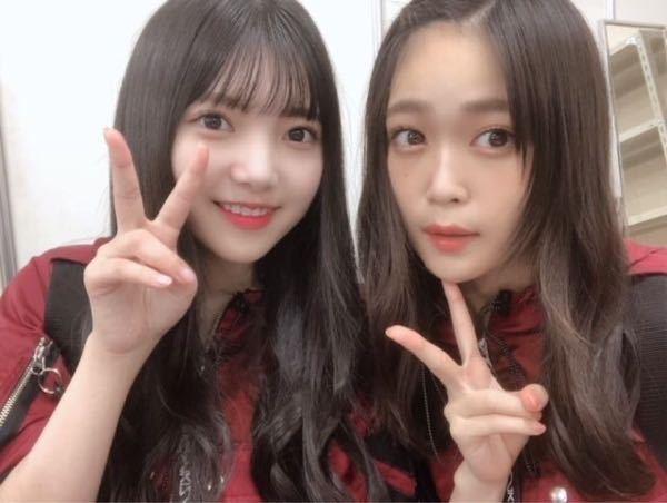 欅坂46 石森虹花ちゃんの隣に写ってる女の子(左)のお名前教えて下さい!