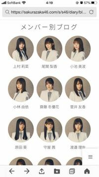 櫻坂46のメンバー別ブログで渡辺梨加だけないのはどうしてですか?