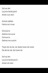 映画について質問です。 「コララインとボタンの魔女」の劇中歌ってフランス語ですか?英語でない事は確かなのですが…。けど制作会社はアメリカなので、あえて英語じゃない曲にしたって事ですかね? YouTubeやGoogleで歌詞の和訳を調べてみたのですがどこにも載っていません。歌詞の意味を知りたいです。自分で翻訳してみようかと思ったのですが何語か分からないので訳せませんでした…。  何か分かる方い...