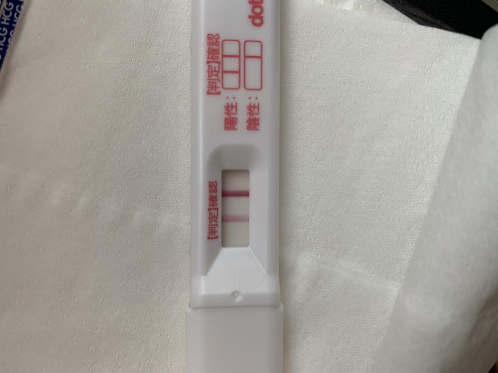 高温期12日目.HCG注射後8日目ですが偽陽性はこのくらいの濃さ出るのが普通でしょうか…?ドゥー