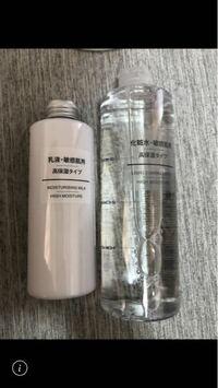 無印の化粧水と乳液なのですが、これはニキビが治りますか?