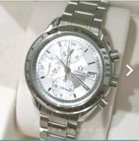 この時計の購入を考えています。 しかし、オメガのシーマスター120mをかったときは、小さすぎました。 この時計は、大きいでしょうが?